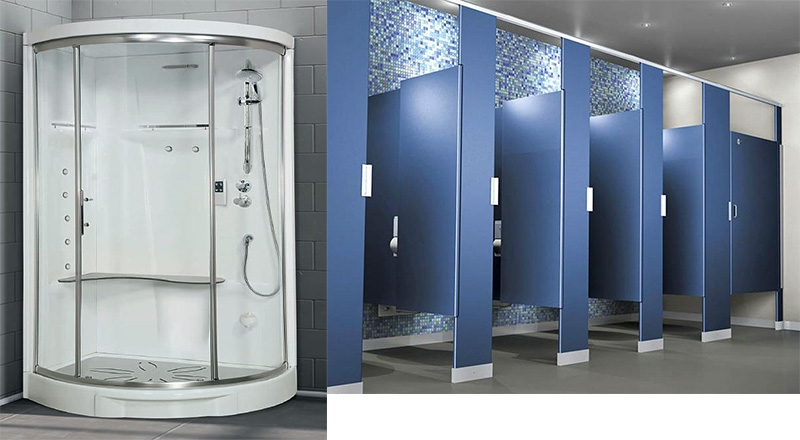 High Preasure Laminated and Shower cubical